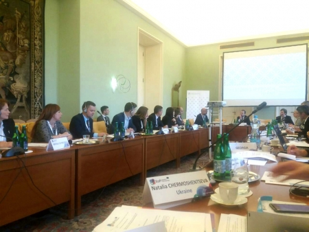 15th Eastern Partnership Panel on Governance and Public Administration Reform  (Prague, Czech Republic)