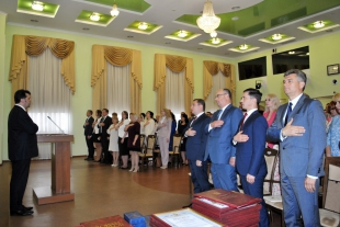 Head of NAUCS congratulated the staff of NAUCS, its regional branches, employees of Center for Adaptation of the Civil Service to the Standards of the European Union, heads of personnel management services of certain central executive authorities